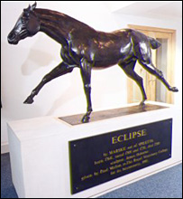 Eclipse statue at the RVC (RVC)
