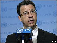 UN chief investigator Serge Brammertz