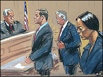 Cheng Chui Ping in court in the US