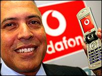 Arun Sarin, Vodafone chief executive