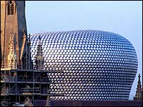 Selfridges in Birmingham's Bullring