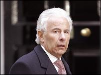 Lord Levy at No 10 Downing Street
