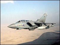 Tornado GR4 bomber