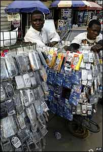 Mobile phone sellers in Lagos