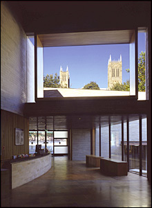 Lincoln City and County Museum, picture from Panter Hudspith Architects.