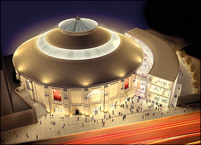 The Roundhouse in Camden, London, picture from John McAslan and Partners.
