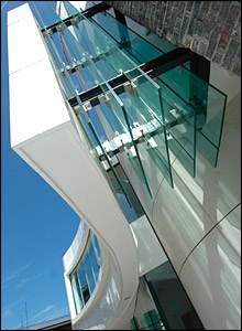 Seven Stories, the Centre for Children's Books, Newcastle. Picture from GWK Architects.