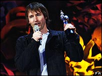 James Blunt at the Brit Awards