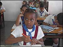 Escuela en Cuba (Foto: Raquel Pérez)