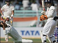 The moment Rahul Dravid dropped Strauss at slip on 92