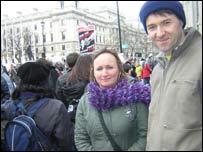 Anne Lemon and Peter McGahan