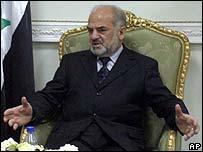 Iraqi Prime Minister Ibrahim Jaafari
