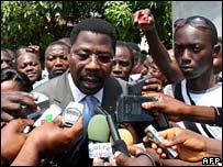 Presidential candidate Yayi Boni