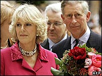 The Duchess of Cornwall and Prince Charles in the USA