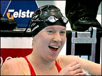England's Rebecca Cooke