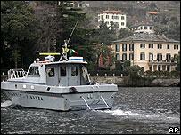 'Guardia di Finanza' boat