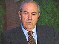 Dr Iyad Allawi