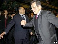 Italian leader of the center-left L'Unione coalition Romano Prodi