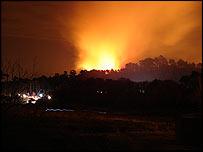 Heath fire (pic by Ryan Lothian)