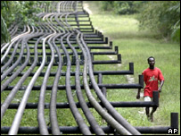 Nigerian oil pipelines