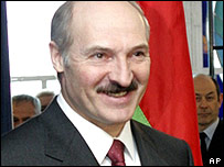 Belarussian President Alexander Lukashenko