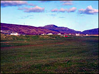 Askernish in South Uist