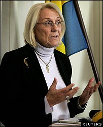 Former Swedish Foreign Minister Laila Freivalds