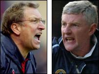 Neil Warnock and Nigel Worthington