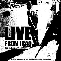 Live From Iraq, the rap album recorded by US soldier Sgt Neal Saunders