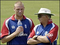 A Flintoff and D Fletcher
