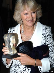 Duchess of Cornwall at Egyptian Museum