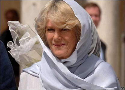 Duchess of Cornwall at Al-Azhar Mosque