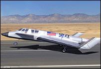 Concept space plane (Space Adventures)