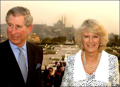 Prince Charles and Camilla in Cairo, Egypt