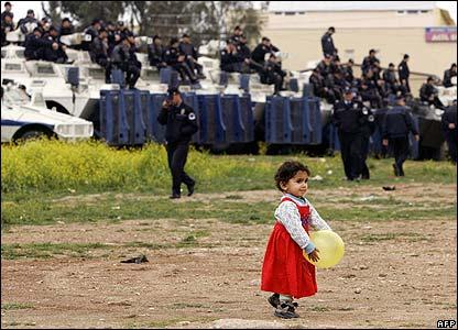 Police watch Kurdish Norouz celebrations in Mersin