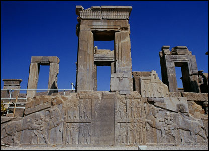 The Apadana Palace in Persepolis