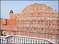Hawa Mahel in Jaipur