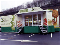 Cooking Bus