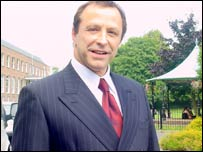 Former club owner Alex Hamilton