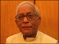 Chief Minister Buddhadeb Bhattacharya