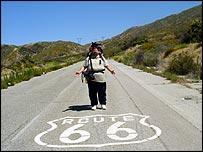 Steve on route 66
