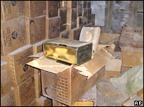 Boxes of Cold War supplies found under Brooklyn Bridge, New York