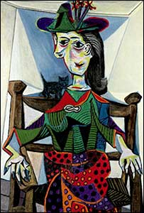 Picasso's Dora Maar With Cat