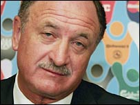 Portugal coach Luiz Felipe Scolari