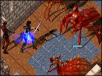 Screenshot from Ultima Online, EA