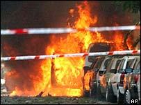 Explosión en Marbella, 2002