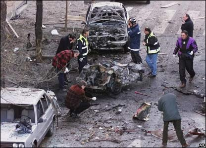 Aftermath of Eta attack, 2000