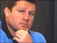 Cardiff Blues coach Dai Young
