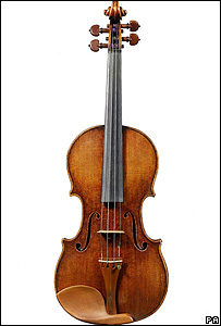 The rare Stradivarius violin