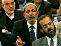 Mahmoud Zahhar and other Hamas MPs